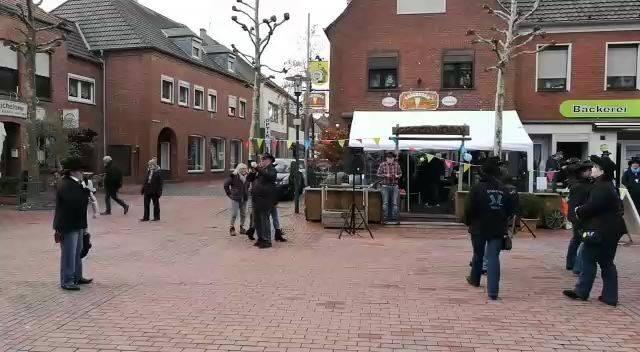 Flashmob Rosenmontag 2018